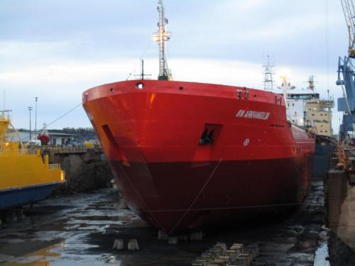 RN ARKHANGELSKTurku Repair YardSept. 2018