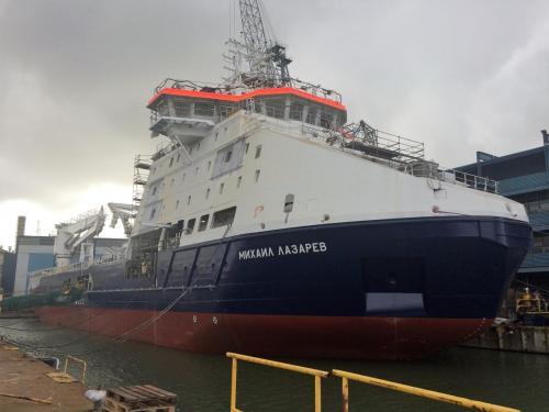 MIKHAIL LAZAREVSept. 2017New shipbuilding