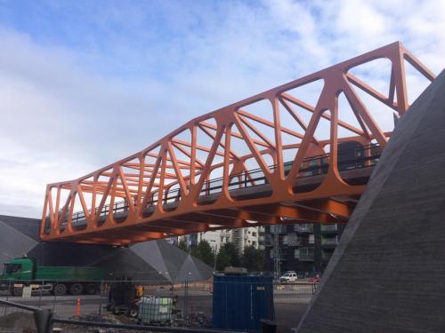 Pedestrian Bridge for Finnish clientM.RAUTIO OYSept. 2017