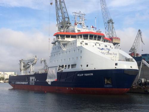 FEDOR USHAKOVSept. 2017New shipbuilding