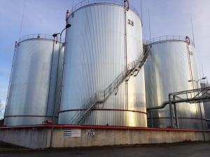 Baltic Oil Service OÜTank No. 3.1, 3.2, 3.8, 3.9 – inside aria.