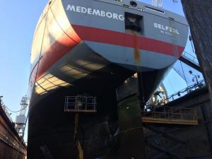 MEDEMBORGTallinn ShipyardDry Dock 2017