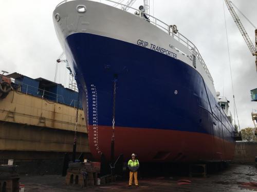GRIP TRANSPORTERNetaman ShipyardJuly-Oct. 2018