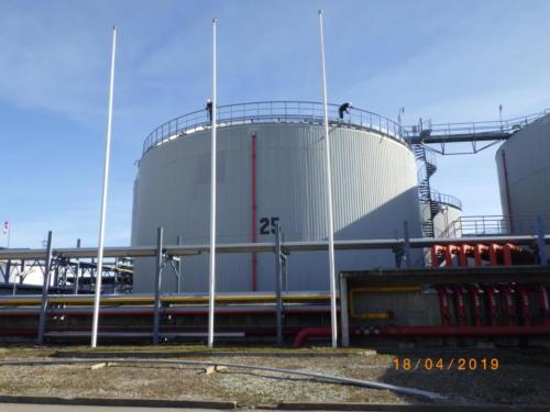 Oiltanking Tallinn ASMuuga, EstoniaApr. 2019