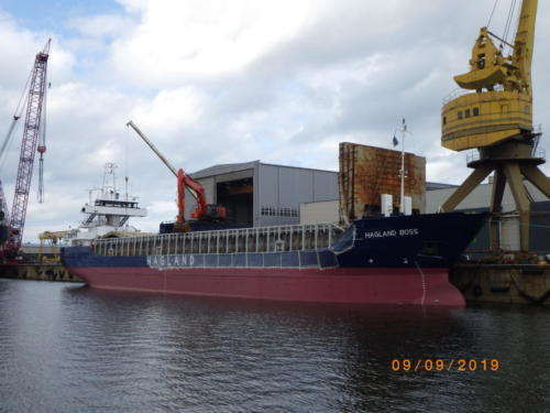 HAGLAND BOSSHAGLAND BULK TRANSPORT KS (NO)Tallinn ShipyardAug.-Sept. 2019