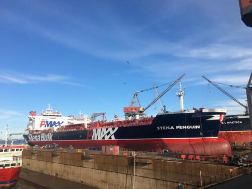 STENA PENGUINStena BulkFayard Ship Repair Yard, Odense DenmarkSept.-Oct. 2020