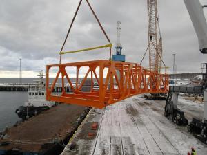 Pedestrian Bridge for Finnish clientM.RAUTIO OYAug. – Nov. 2016