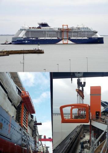 Magic Carpetfor ship: CELEBRITY EDGE     Sept. 2017  New shipbuilding
