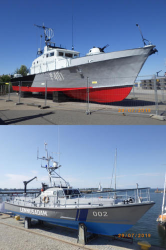 Exhibits Maritime Museum.Repair of outside area of the ships.July 2019