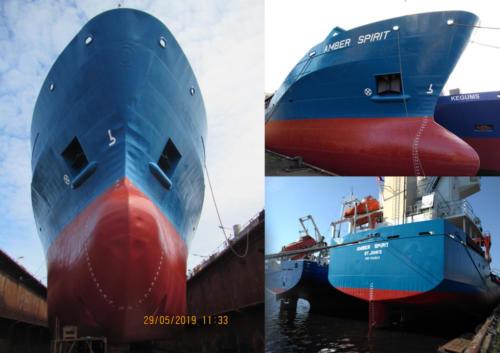 AMBER SPIRITBolderaja ShipyardMay 2019