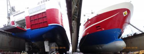 ROSELLATallinn ShipyardJan. 2018